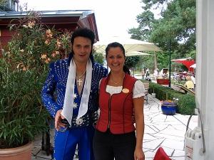 Elvis lebt auf dem Promenadenfest 2008 in Heringsdorf