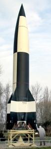 Nachbau einer V2-Rakete