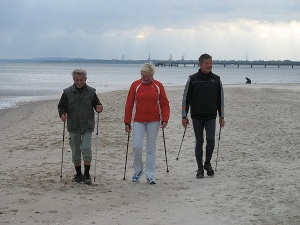 Nordic Walking mit Manfred Burda