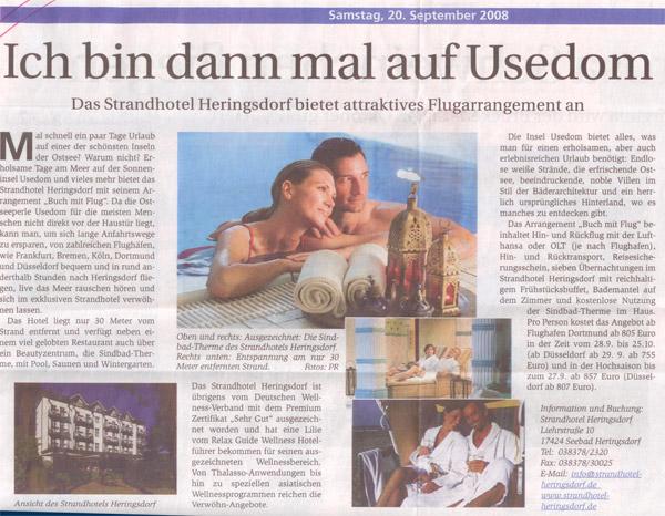 """""""Ich bin dann mal auf Usedom"""""""