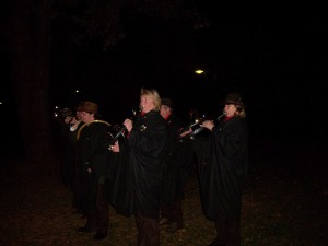 Jagdbläser zum Hubertusfest