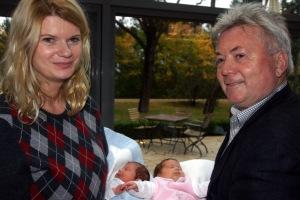 die stolzen Eltern: Karin & Werner Molik