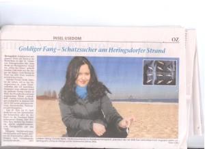 Artikel in der Ostseezeitung vom 17.03.2010