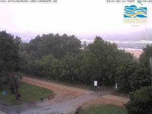 Webcambild 14.08.2010 vom Dach des Strandhotel Heringsdorf