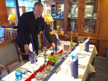 Thementafel im Restaurant Heinrichs