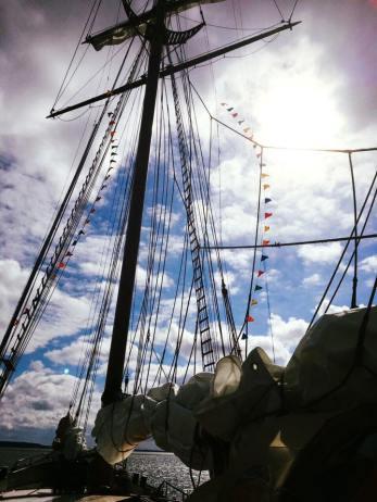 Segel Schiff Weiße Düne