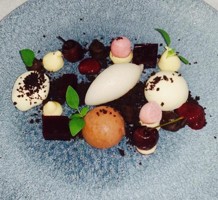 Dessert im Strandhotel Heringsdorf